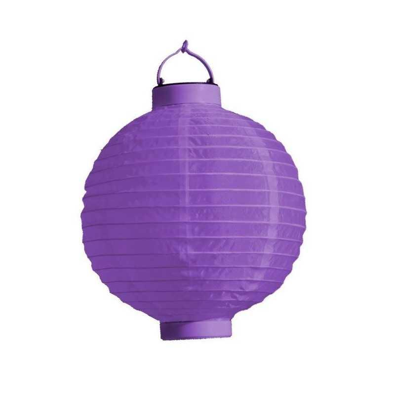 LED Rislampe Til Hyggelige Stunner 20 cm : Farve - Lilla