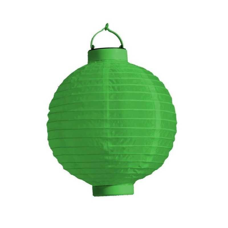 LED Rislampe Til Hyggelige Stunner 20 cm : Farve - Grøn