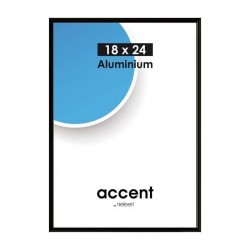 15x20 cm Nielsen Fotoramme Accent i Aluminium Flere Farver : Farve - Sort