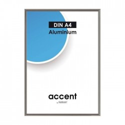 21 x 29,7 cm (DIN A4) Nielsen Fotoramme Accent i Aluminium Flere Farver : Farve - Stål Grå