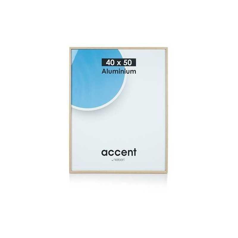 40 x 50 cm Nielsen Fotoramme Accent i Aluminium Flere Farver : Farve - Kobber