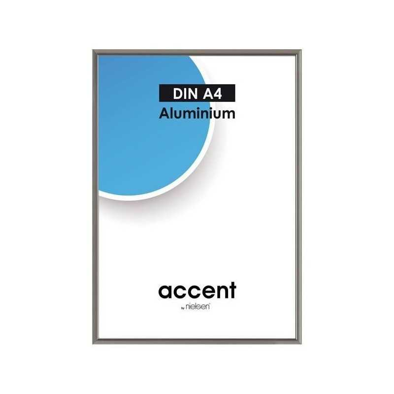 40 x 50 cm Nielsen Fotoramme Accent i Aluminium Flere Farver : Farve - Stål Grå