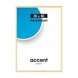 40 x 50 cm Nielsen Fotoramme Accent i Aluminium Flere Farver : Farve - Guld