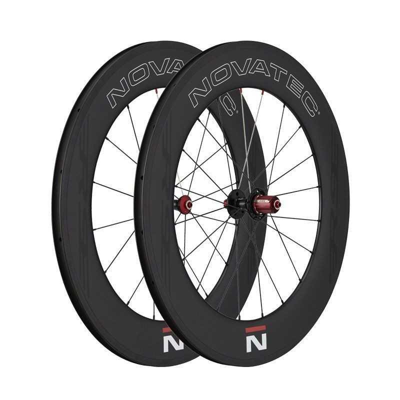 Novatec R9 U3.0 Carbon Hjulsæt Til Racercykler 90 mm Profil