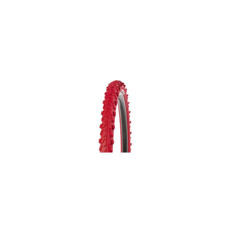 "26x1,95"" Kenda Mountainbike Cykeldæk Gule, Røde eller Blå (Ertro 50-559) : Farve - Rød"