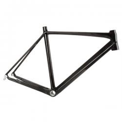 Racer Ramme UD Carbon Klar Lakeret 820 Gram : Stel Størrelse - 48 cm