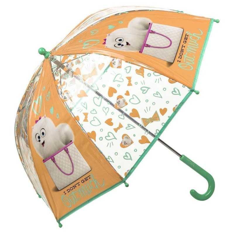 Secret Life Of Pets Paraply Til Børn Ø70 cm Transparent