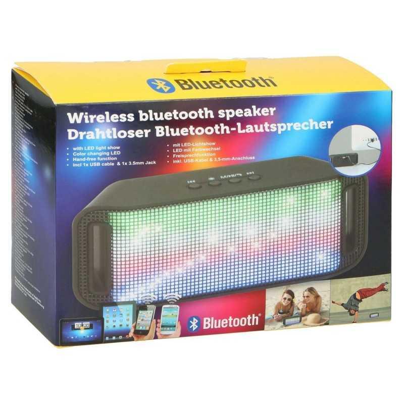 Trådløs Bluetooth Højtaler Med Lys 3 W