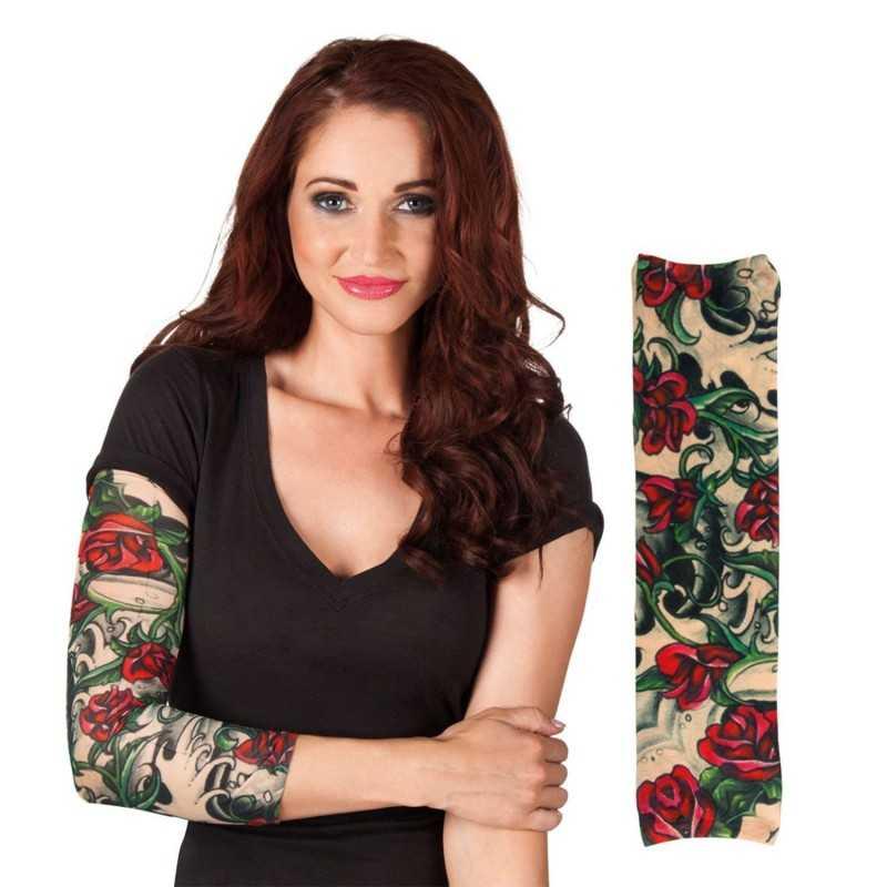 Tatoo Sleeve Med Roser