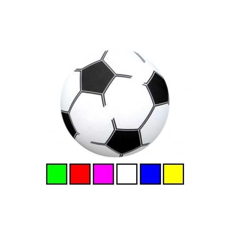 Grøn - PVC Plast Fodbold Til Børn Ø 20 cm