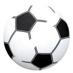 Rød - PVC Plast Fodbold Til Børn Ø 20 cm