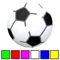 Hvid - PVC Plast Fodbold Til Børn Ø 20 cm
