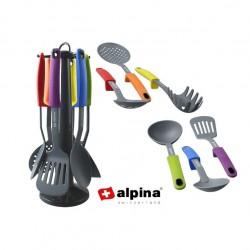 Lækkert Alpina Køkkensæt Med Klassiske 7 Dele