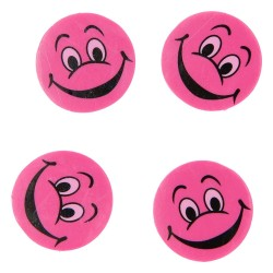 Emoji Viskelæder 4 Stk.