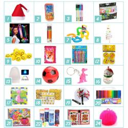 Pakkekalender Til Børn På 3-5 år - Specielt Til Piger