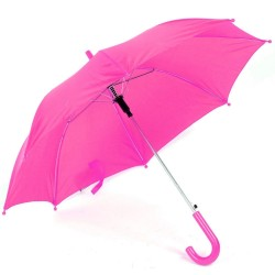 Paraply Til Børn Ø 75 cm Flere Farver : Farve - Pink