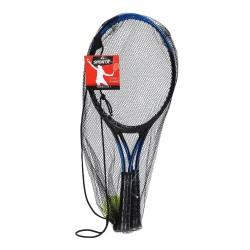 Rød - Tennis Sæt Inkl. Bold Fra 8 år+