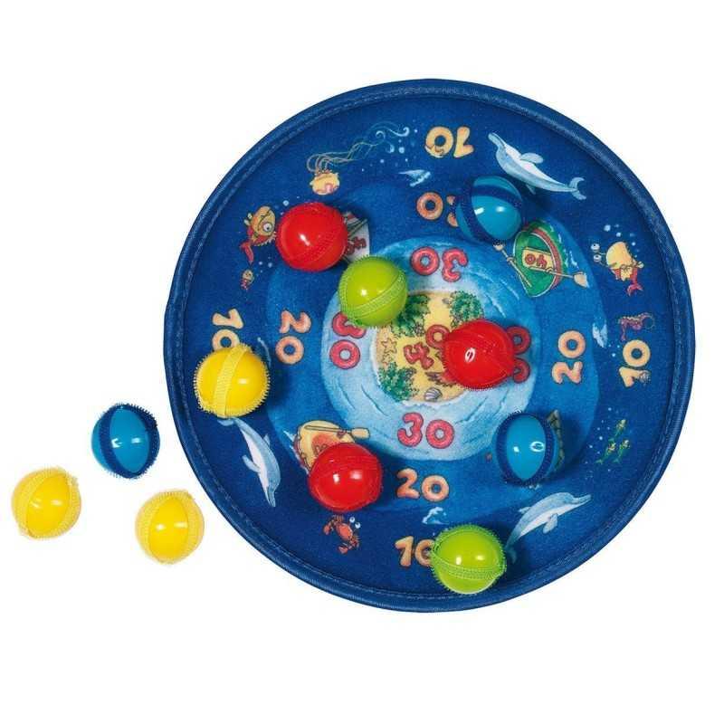 Velkro Dart Spil Til Børneværelset Inkl. Bolde