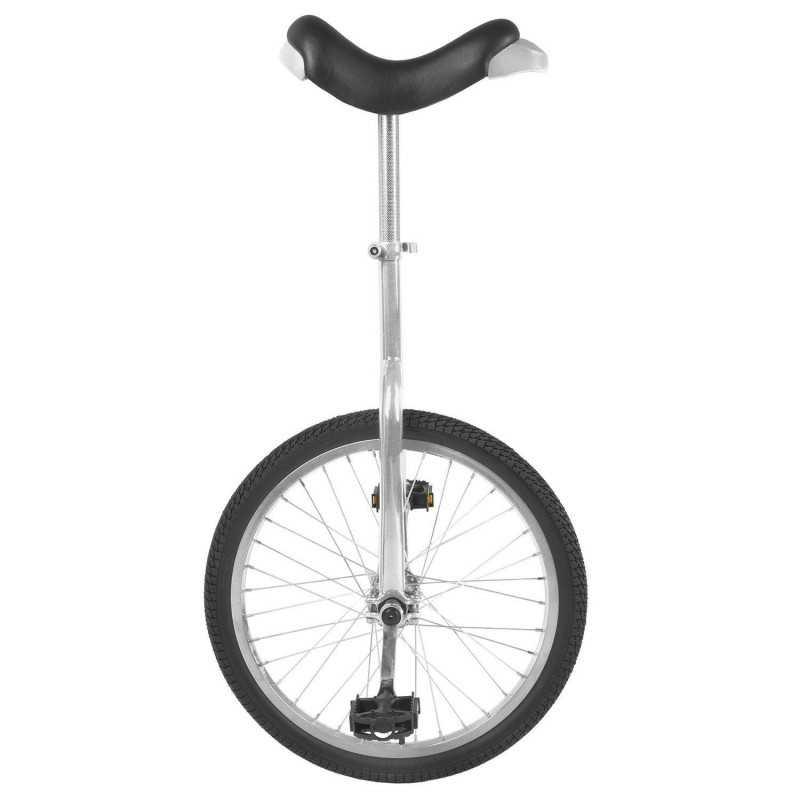 """20"""" Ethjulet Cykel Sølv"""