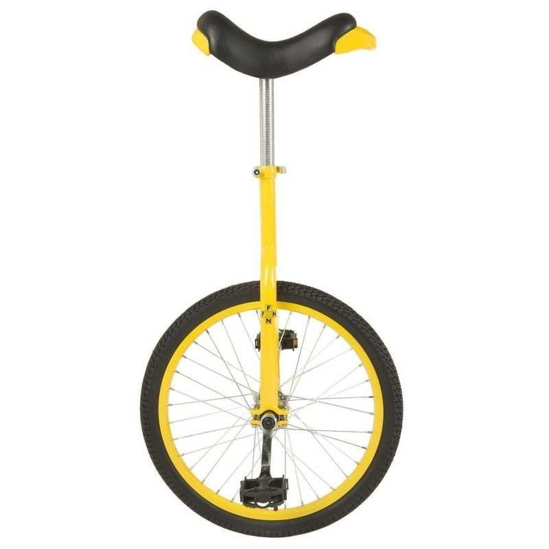 """20"""" Ethjulet Cykel Gul"""