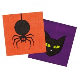 12 stk. Halloween Servietter