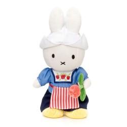 Bamse Kanin Med Rose 24 cm