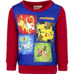 12 år / 152 cm Pokemon Trøje Til Børn - Rød