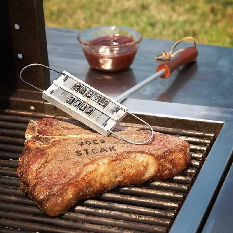BBQ Brandejern Inkl. 55 Bogstaver