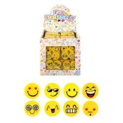 Emoji Viskelæder 4 Stk. i Pakken