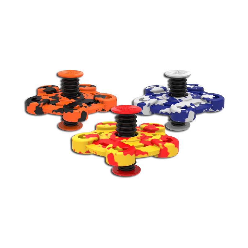 Flip Spinners i Camouflage Farver : Farve - Orange