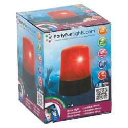 Signal Lampe Med Rødt Lys