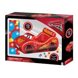 Cars / Lynet MC Queen Oppustelig Bil Med Bløde Legebolde