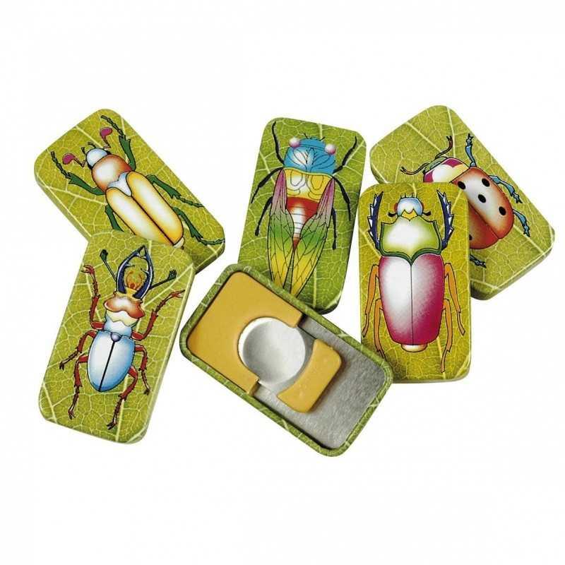 Klikklakker - Insekt 4,5 x 2,5 cm