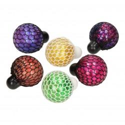 Klemmebold Med Glitter og Vandperler Ø 6 cm