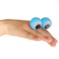 Stor Fingering Med Sjove Øjne 5 x 4 x 2,5 cm