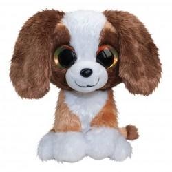 Bamse Hund Med Store Søde Øjne 15 cm