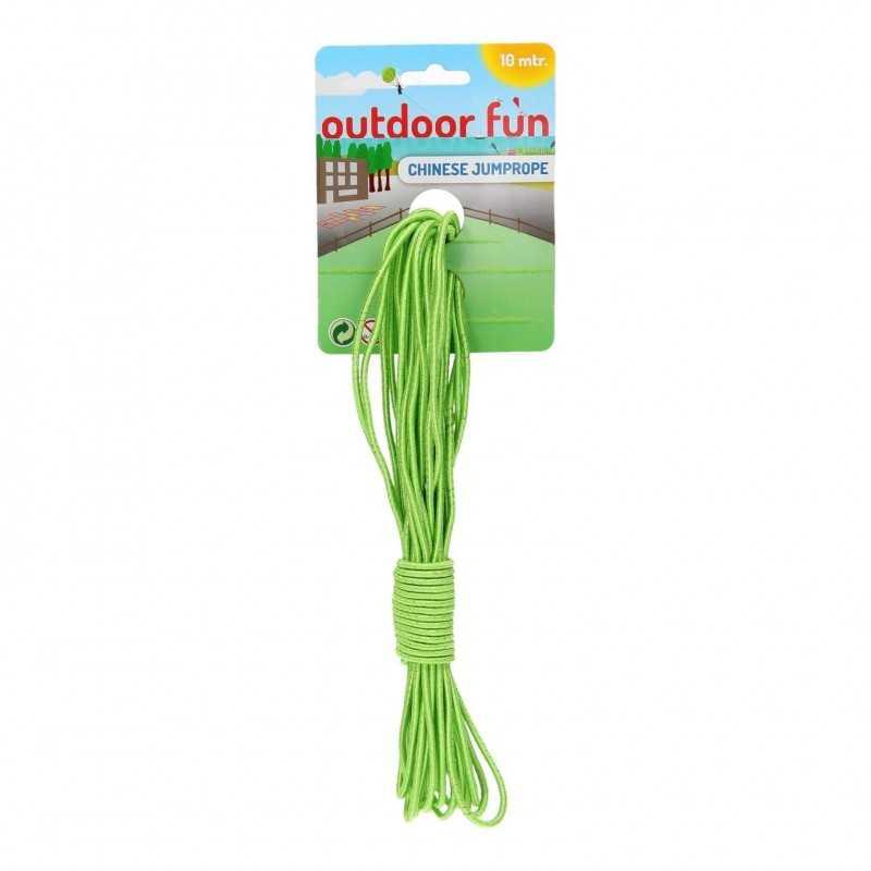 10 Meter Hoppeelastik Grøn