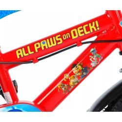 """Paw Patrol Cykel 12"""" Med Støttehjul"""