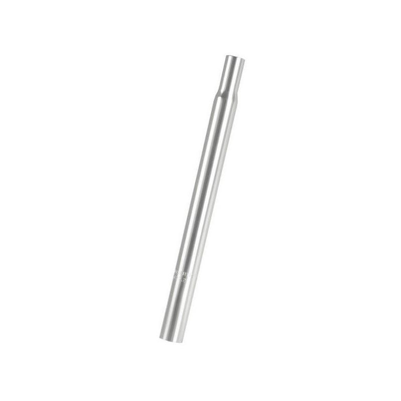 27,2 mm Aluminium Sadelpind 330 mm. Sølv