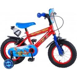 """Paw Patrol Cykel 12"""" Med Støttehjul 3-5 År. Fodbremse"""