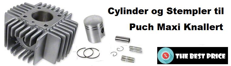 23ad669fb50 Cylinder Og Stempler Til Puch Maxi P, K el KL Knallert | Puch Maxi ...