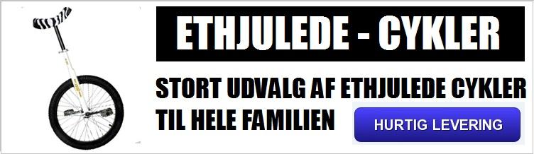 BILLIGE ETHJULEDE CYKLER - ETHJULET CYKLER TIL HELE FAMILIEN